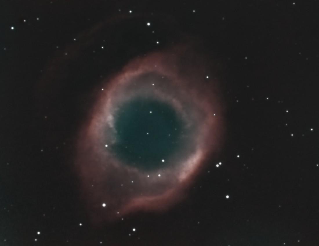 la nébuleuse Hélix NGC7293