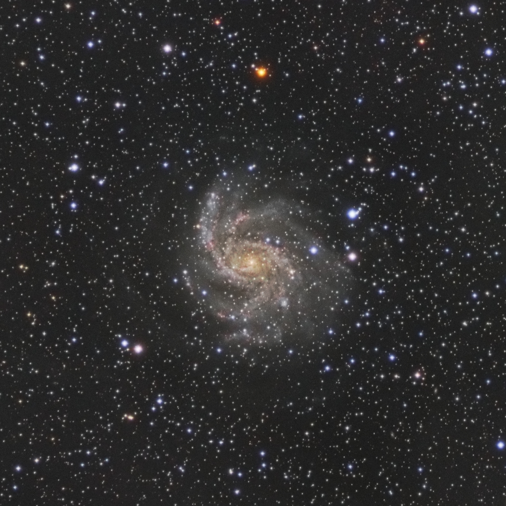La galaxie du feu d'artifice NGC6946