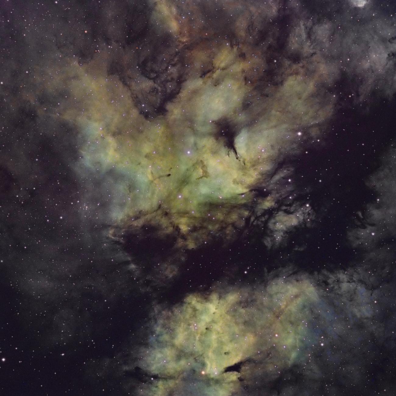 La nébuleuse du papillon «'Butterfly nebula» IC 1318