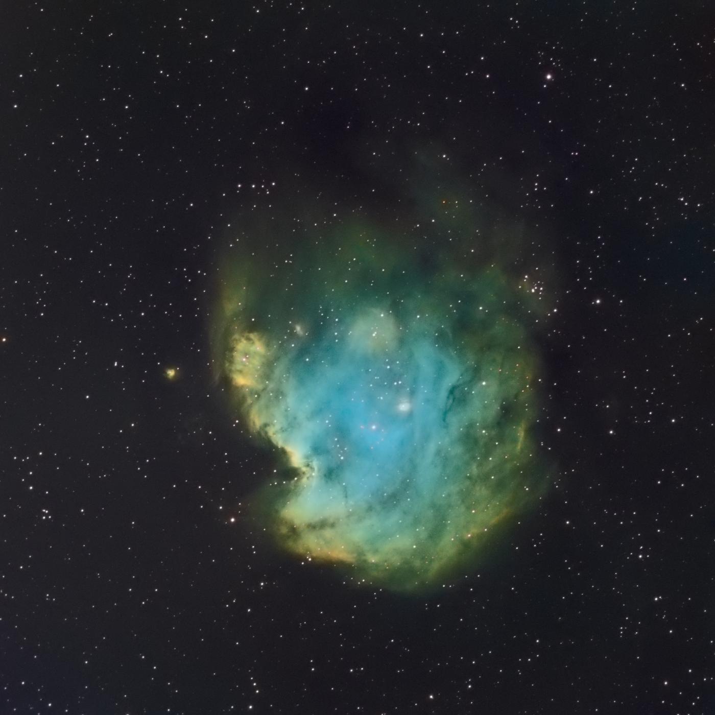 La nébuleuse du singe NGC 2174