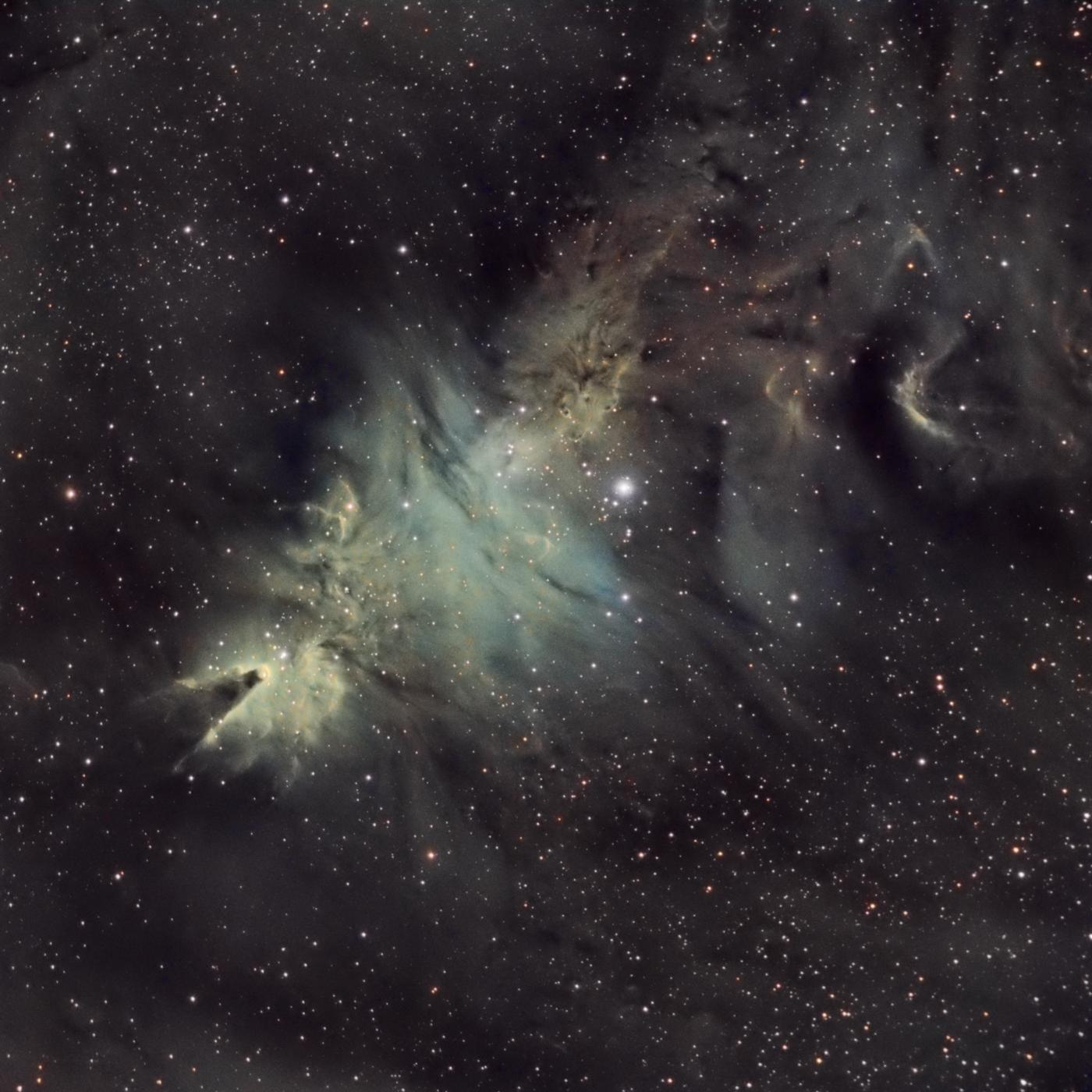 La nébuleuse du cône NGC2264