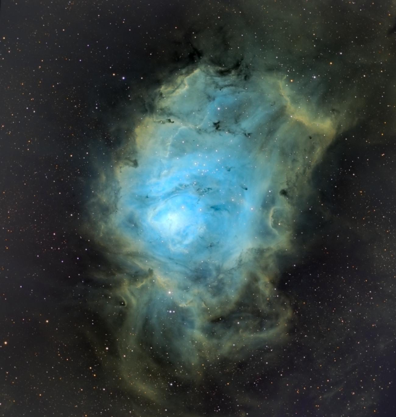 La nébuleuse de la Lagune M8