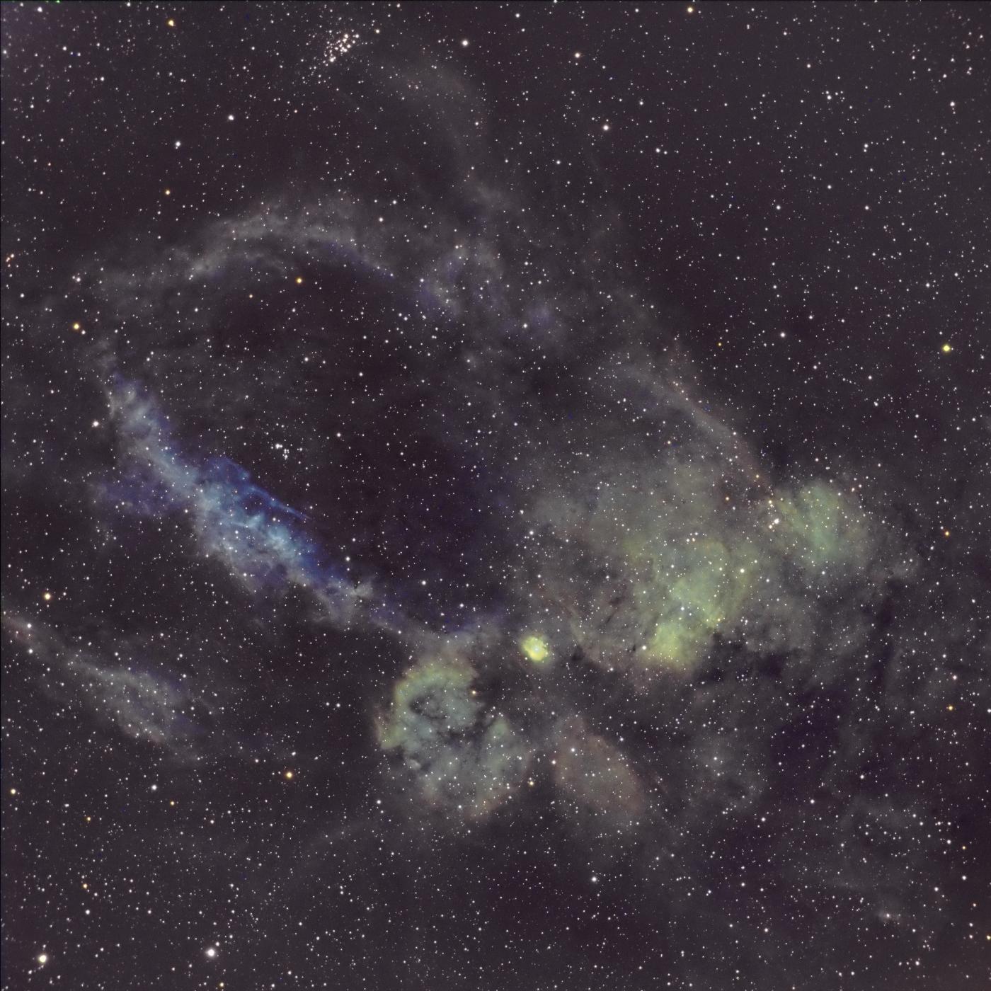 La nébuleuse Sh2 157