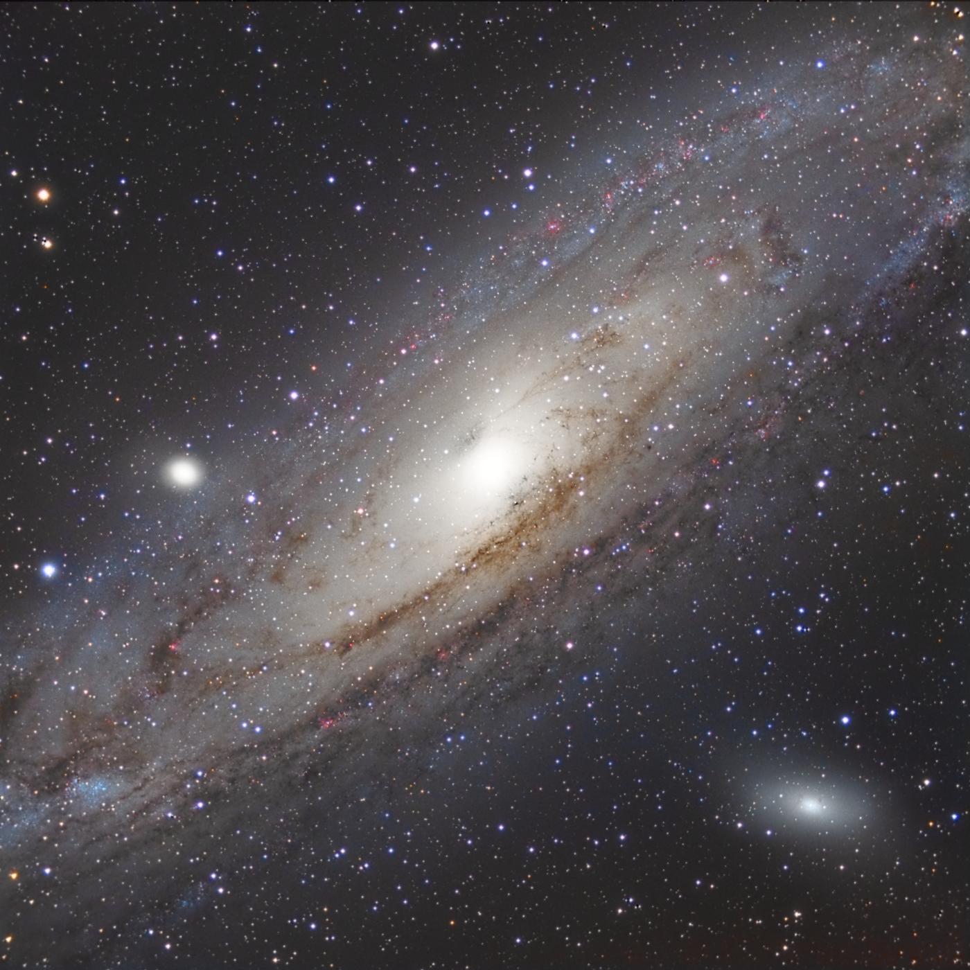 La grande galaxie d'Andromède M31