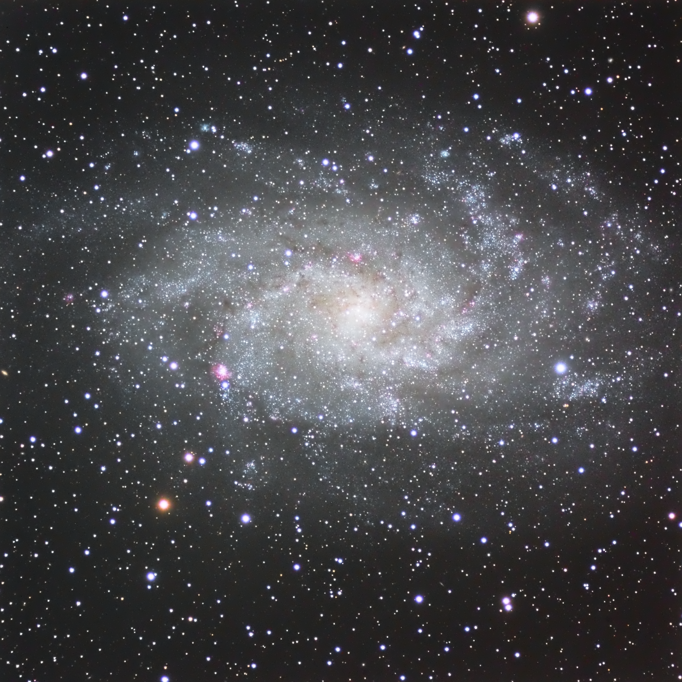 La galaxie du triangle M33