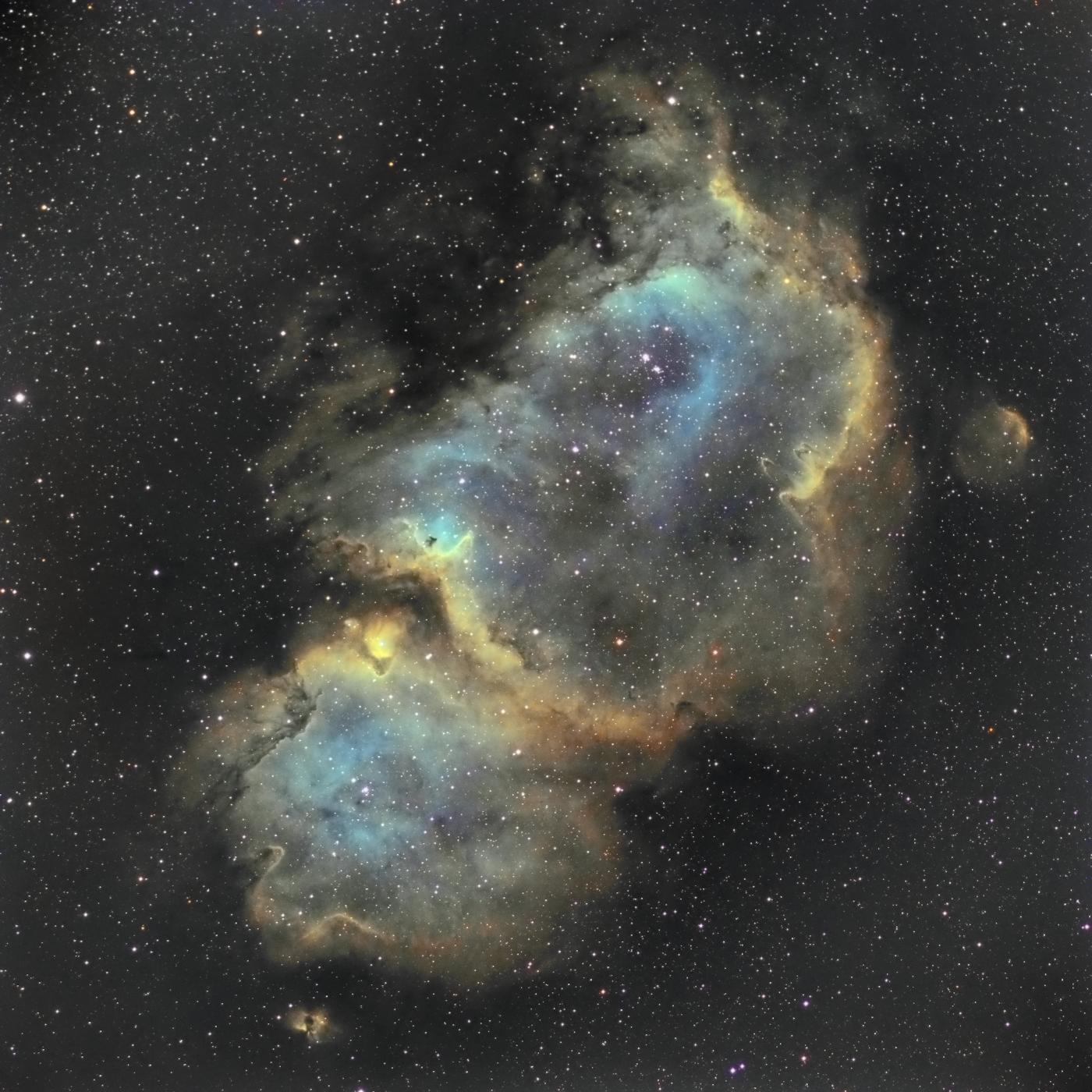 La nébuleuse de l'âme IC 1848