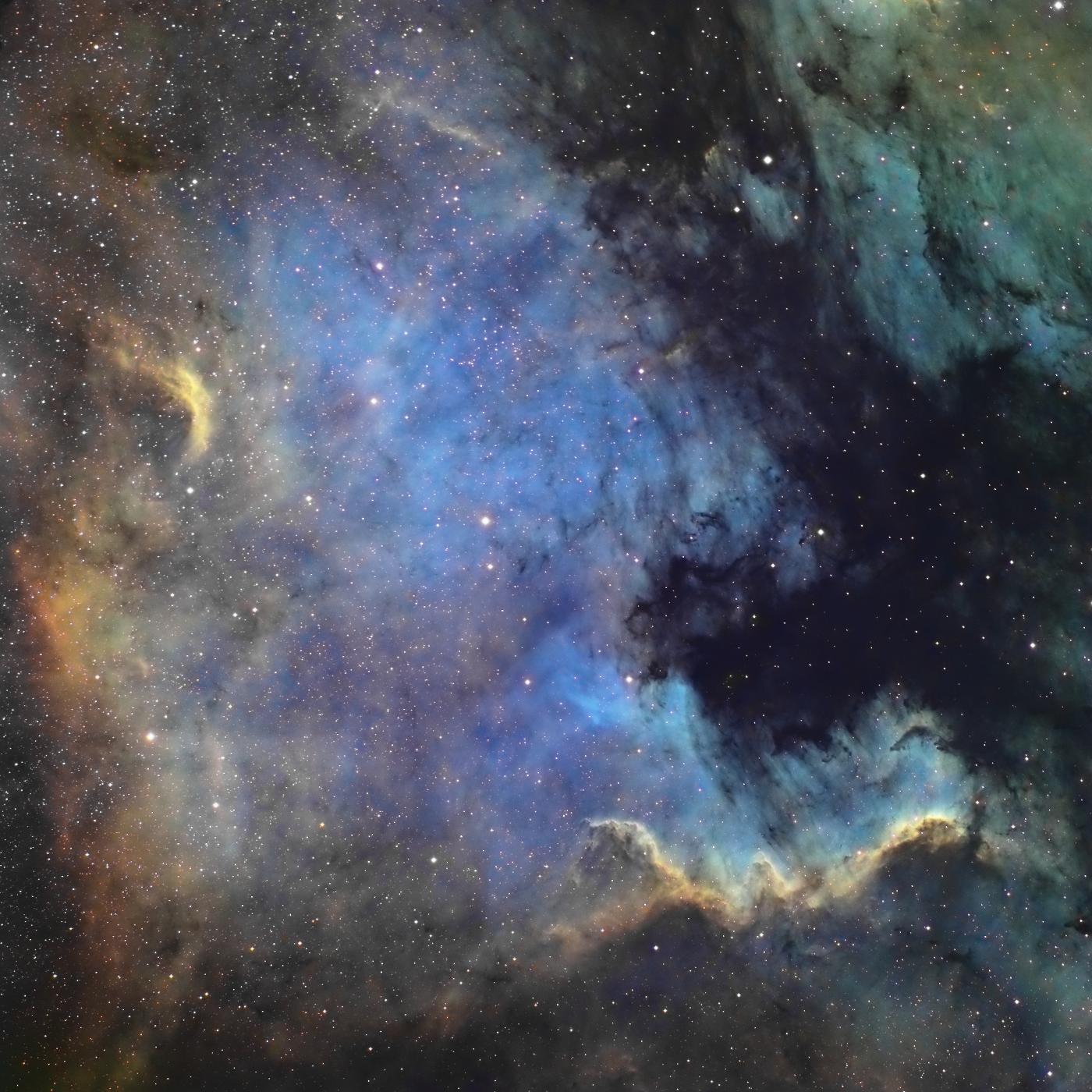 La nébuleuse North America NGC 7000