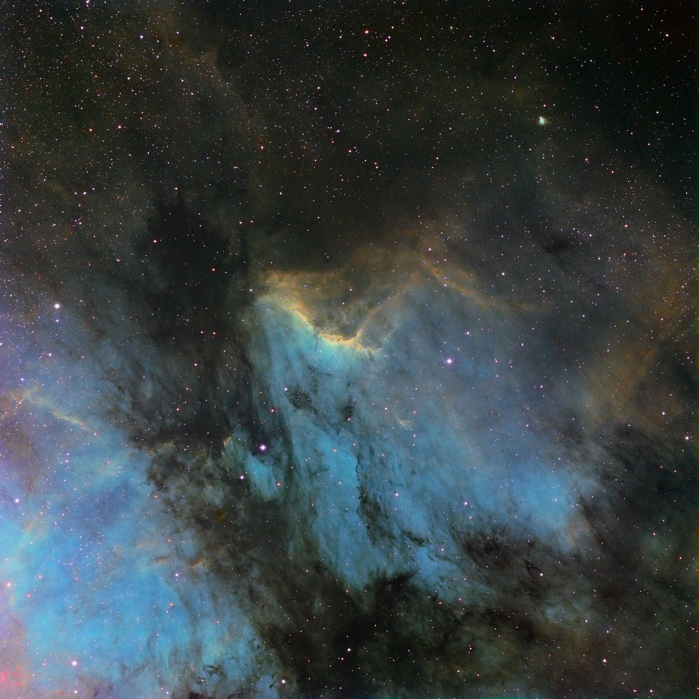 La nébuleuse du pélican IC5070