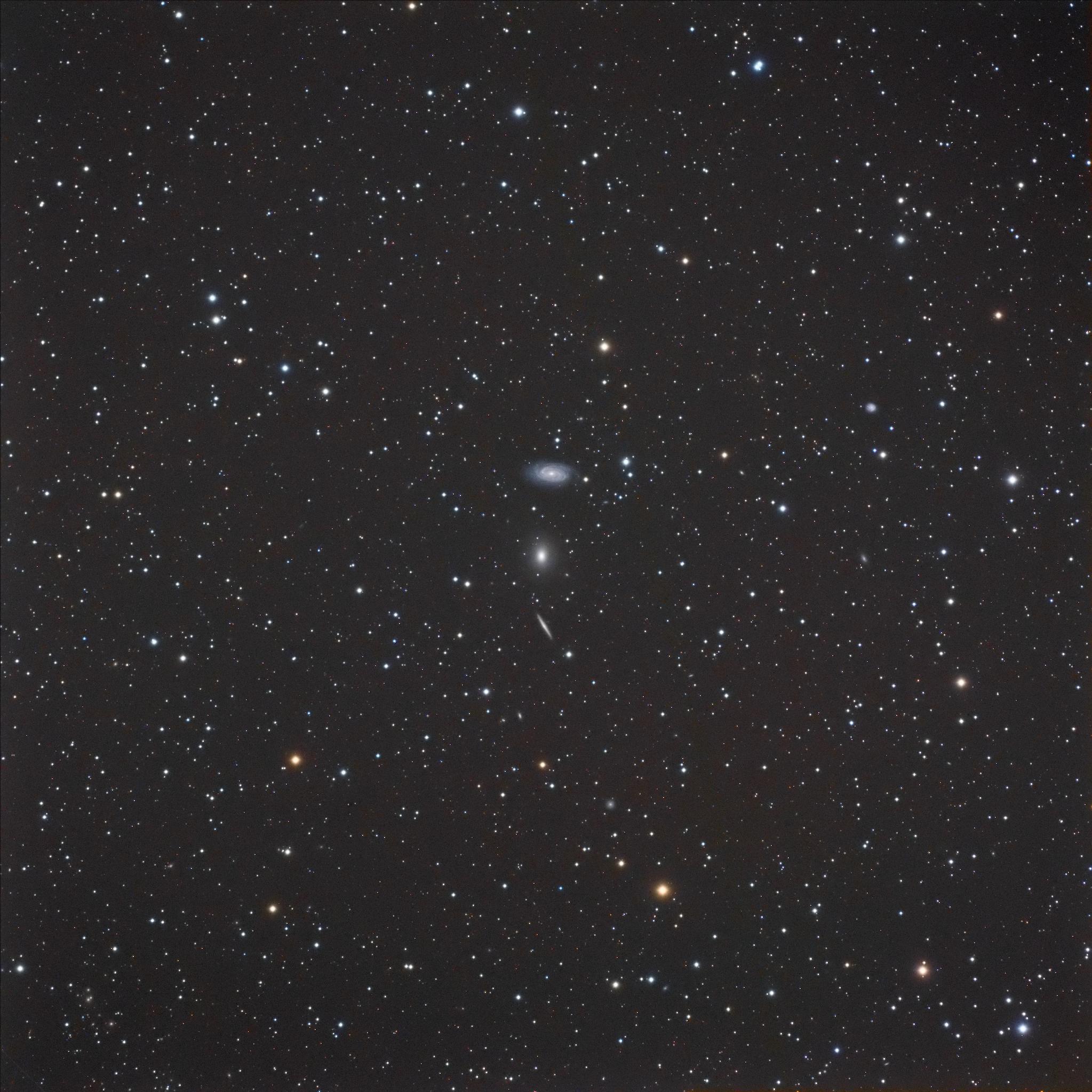 Le triplet du Dragon NGC 5981, 5982, 5985